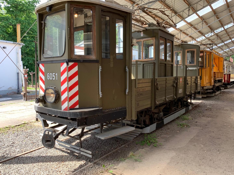 Wien AT 6051 – Schienenschleifwagen