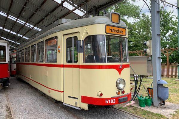 TW5103 als Fahrschulwagen im HSM