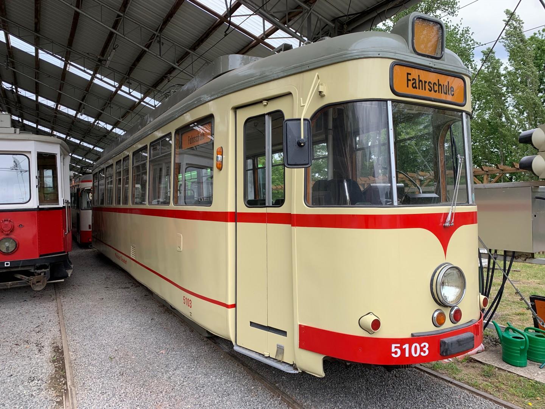 Düsseldorf TW 5103 – Fahrschulwagen