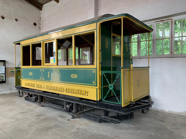 Hamburg BW 1 – Pferdebahnwagen