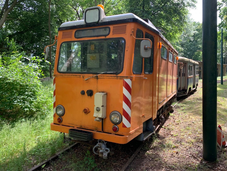Köln ATW 6004 – Schienenschleifwagen