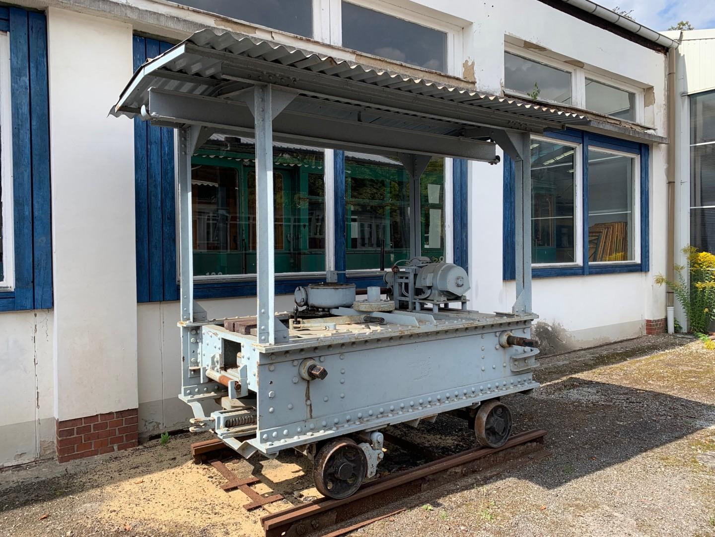Bremerhaven – Robel Schienenbiegemaschine