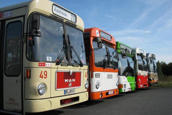 Bustreffen im Hannoverschen Straßenbahn-Museum